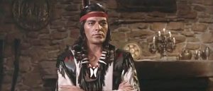 Tony Kendall as Chief Black Eagle in Black Eagle of Sante Fe (1965)