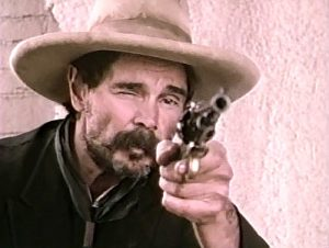 Buck Taylor as Wes Porter in Desperado -- The Outlaw Wars (1989)