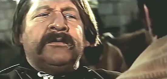 Fernando Sancho as Carranza in All Out (1968)