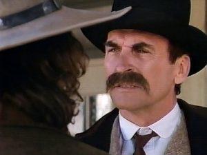 James Sikking as Kirby Clarke in Desperado, Badlands Justice (1989)