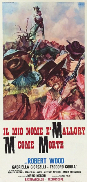 Mallory Must Not Die (1971) poster