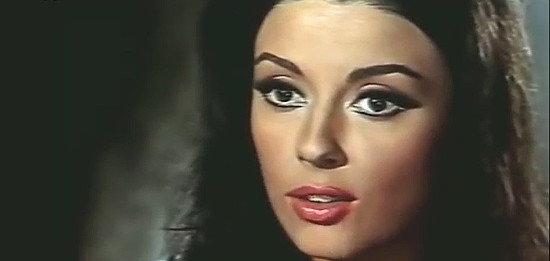 Monica Randall as Maria in All Out (1968)