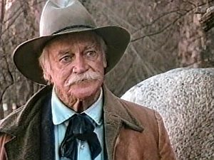 Richard Farnsworth as Sheriff Campbell in Desperado -- The Outlaw Wars (1989)