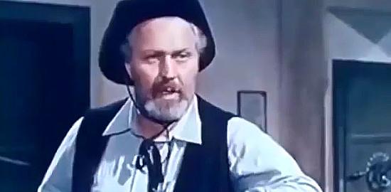 Aldo Cecconi (Jim Clay) as Sheriff Jack in My Gun is the Law (1965)