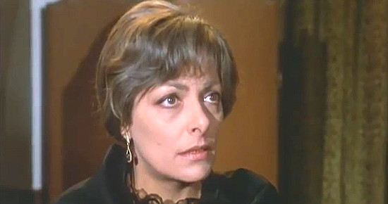 Anna Miserocchi (Helen Wart) as Corina Wilkins
