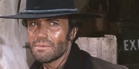 Anthony Steffen as Dave Flanagan in The Man Who Cried for Revenge (1969)