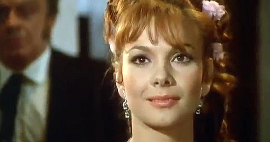 Barbara Loy as Evelyn Wilkins in The Magnificent Texan (1967)