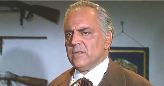 Beni Deus as Judge Wilkins in The Magnificent Texan (1967)