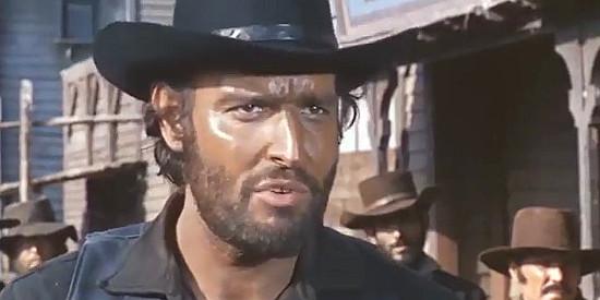 Claudio Undari (Robert Hundar) as Clay Hackett in The Man Who Cried for Revenge (1969)