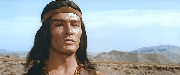Daniel Martin as Unkas in The Last Tomahawk (1965)