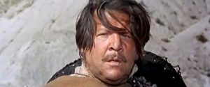 Fernando Sancho as Sanchez, the Mexican bandit leader in For the Taste of Killing (1966)