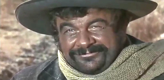 Franco Cobianchi D'Este (Peter White) as Paco in Three Crosses Not to Die (1968)