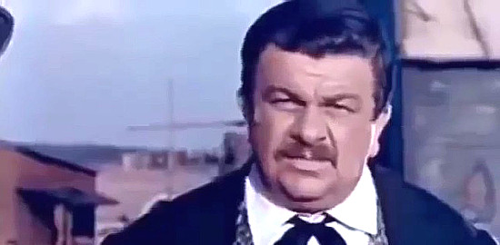 Franco Cobianci (Peter White) as Henry O'Brien in My Gun is the Law (1965)