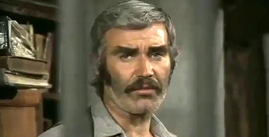 Frank Brana as Sheriff Lewis Burton in Kill the Poker Player (1972)