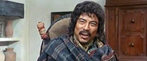 George Wang as Mingo, one of Gus Kennebeck's men, in For the Taste of Killing (1966)