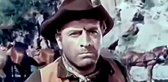 Germano Longo as Mark, O'Brien's right-hand man in My Gun is the Law (1965)