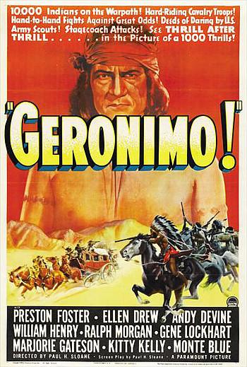 Geronimo (1939) poster