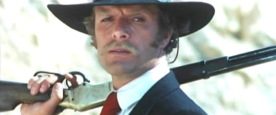 Gianni Garko as Sartanain Have a Good Funeral, My Friend ... Sartana Will Pay (1970)