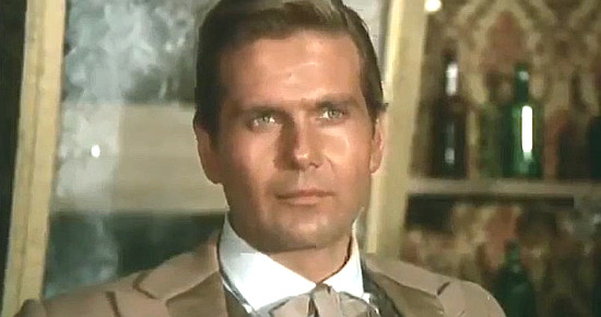 Giorgio Cerioni (George Greenwood) as William in The Magnificent Texan (1967)