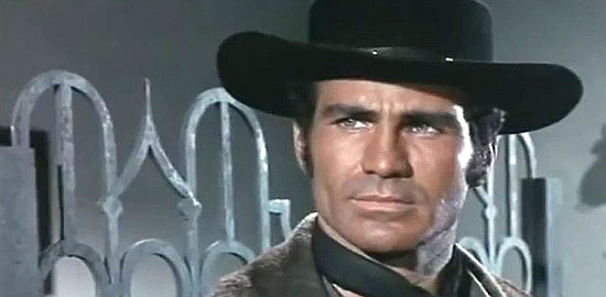 Giovanni Cianfriglia (Ken Wood) as Reno in Three Crosses Not to Die (1968)