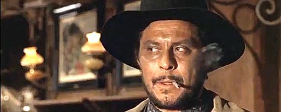 Giovanni Pazzafini as Doc Lester in Death at Orwell Rock (1967)