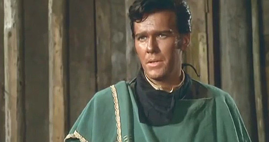 Glenn Saxon as El Desperado (Manuel Lopez) in The Magnificent Texan (1967)