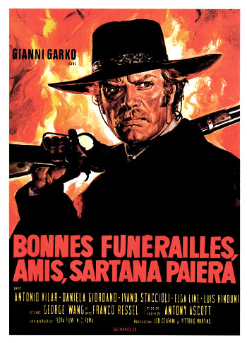 Have a Good Funeral My Friend ... Sartana Will Pay (1970) poster