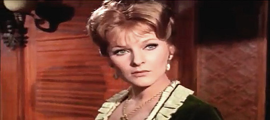 Heidi Fischer as Evelyn Hollman in If You Meet Sartana Pray for Your Death (1969)