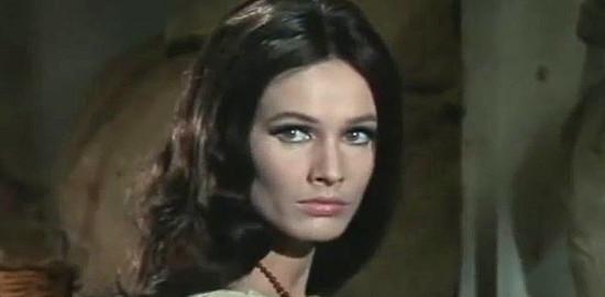Ida Galli (Evelyn Stewart) as Dolores in Three Crosses Not to Die (1968)
