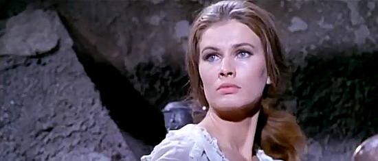 Ida Galli (Evelyn Stewart) as Judy McDougall in Why Go on Killing (1965)