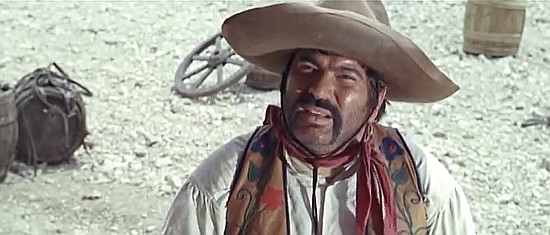 Ignazio Spalla (Juan Sanchez) as Rojo in Why Go on Killing (1965)