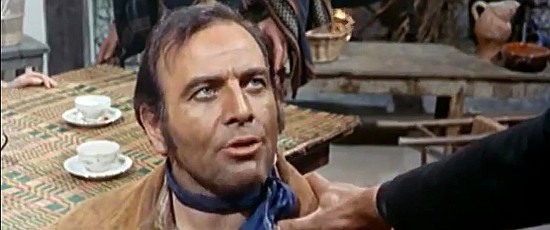 Jose Marco as John Kennebeck, Gus's law-abiding brother, in For the Taste of Killing (1966)