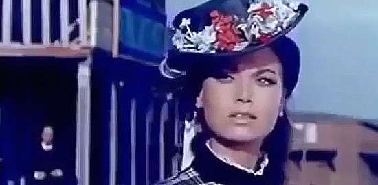 Luciana Gilli as Louise O'Brien in My Gun is the Law (1965)