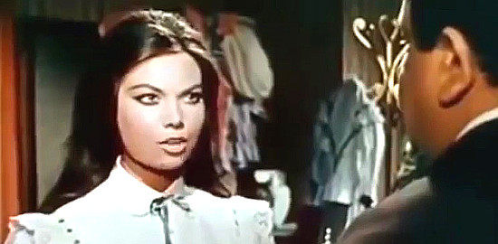 Luciana Gilli as Louise O'Brien with Franco Cobianci as Henry O'Brien in My Gun is the Law (1965)