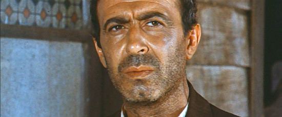 Luigi Casellato as Eddie, the saloon owner, in My Name is Pecos (1966)
