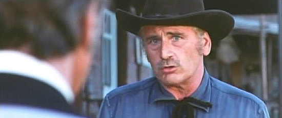 Luis Induni as the sheriff in Have a Good Funeral, My Friend ... Sartana Will Pay (1970)