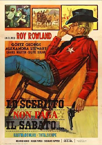 Man Called Gringo (1965) poster