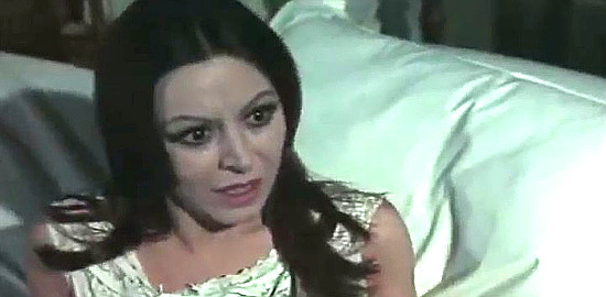 Mariangela Giodano as Betty Fletcher in Three Crosses Not to Die (1968)
