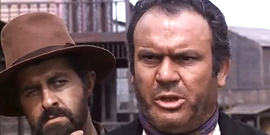 Mario Brega as Dirty in The Man Who Cried for Revenge (1969)
