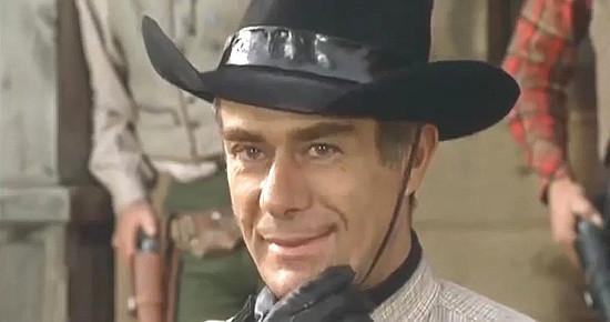Massimo Serato (John Barracuda) as Blackie Stark in The Magnificent Texan (1967)