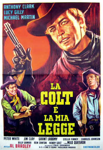 My Gun is the Law (1965) poster