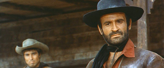 Pier Paolo Capponi (Norman Clark) as Joe Clane in My Name is Pecos (1966)