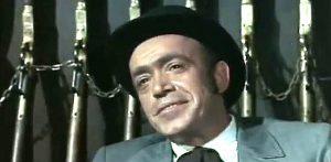Raffaele Di Mario as the sheriff in Three Crosses Not to Die (1968)