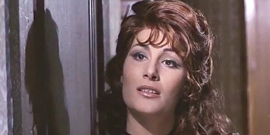 Rossella Bergamonti as the whore in The Man Who Cried for Revenge (1969)