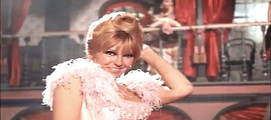 Sabine Sun as Meg in If You Meet Sartana Pray for Your Death (1969)