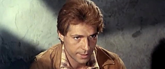 Sancho Gracia as Steve, one of Gus Kennebeck's men in For the Taste of Killing (1966)