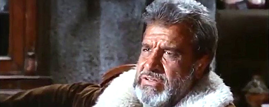 Spartaco Converi as old man Lester in Death at Orwell Rock (1967)
