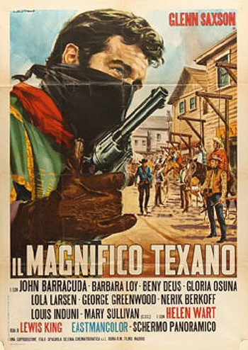 The Magnificent Texan (1967) poster