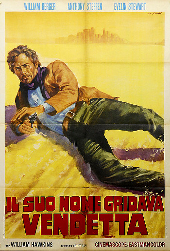 The Man Who Cried Revenge (1968) poster