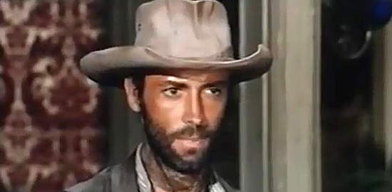 Thomas Hunter as Whitaker Selby in Death Walks in Laredo (1966)